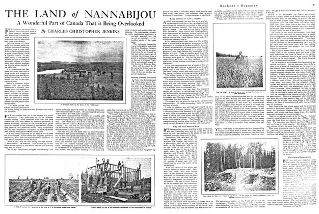 Article Preview: THE LAND of NANNABIJOU, FEBRUARY 15TH 1920 1920 | Maclean's