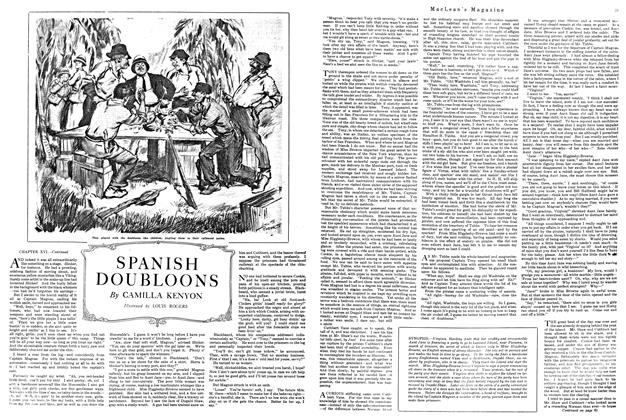 Article Preview: SPANISH DOUBLOONS, FEBRUARY 15TH 1920 1920 | Maclean's