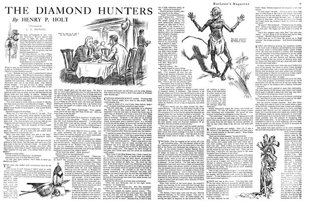 Article Preview: THE DIAMOND HUNTERS, FEBRUARY 15TH 1920 1920 | Maclean's