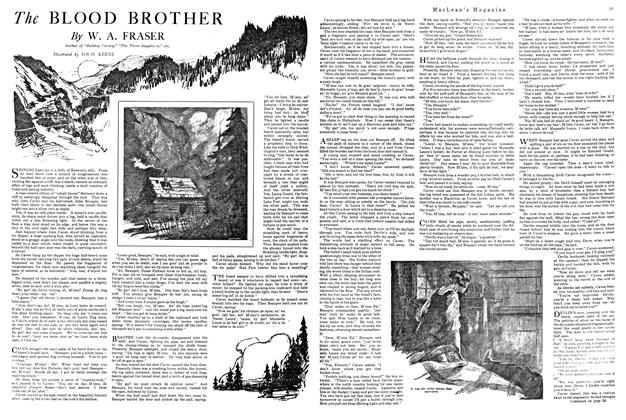 Article Preview: The BLOOD BROTHER, FEBRUARY 15TH 1920 1920 | Maclean's