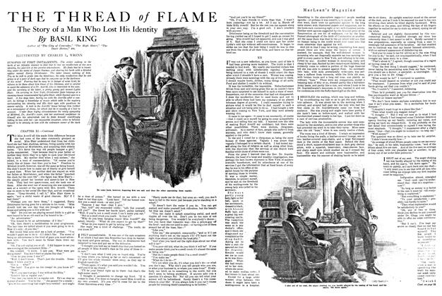 Article Preview: THE THREAD of FLAME, FEBRUARY 15TH 1920 1920 | Maclean's