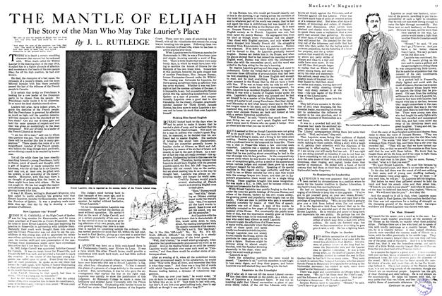 Article Preview: THE MANTLE OF ELIJAH, FEBRUARY 15TH 1920 1920 | Maclean's