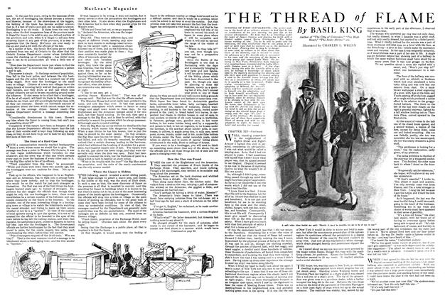 Article Preview: THE THREAD of FLAME, MARCH 1ST 1920 1920 | Maclean's
