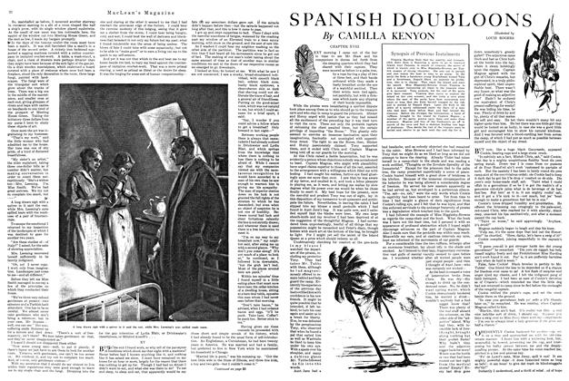 Article Preview: SPANISH DOUBLOONS, MARCH 1ST 1920 1920 | Maclean's