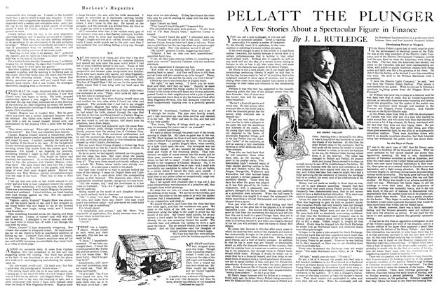 Article Preview: PELLATT THE PLUNGER, MARCH 1ST 1920 1920 | Maclean's