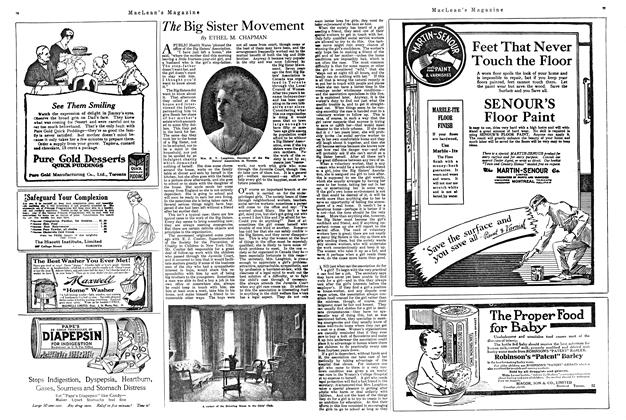 Article Preview: The Big Sister Movement, MARCH 1ST 1920 1920 | Maclean's