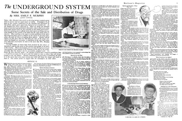 Article Preview: The UNDERGROUND SYSTEM, March 1920 | Maclean's