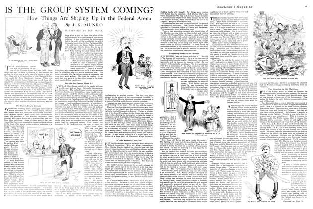 Article Preview: IS THE GROUP SYSTEM COMING?, APRIL 1st, 1920 1920 | Maclean's