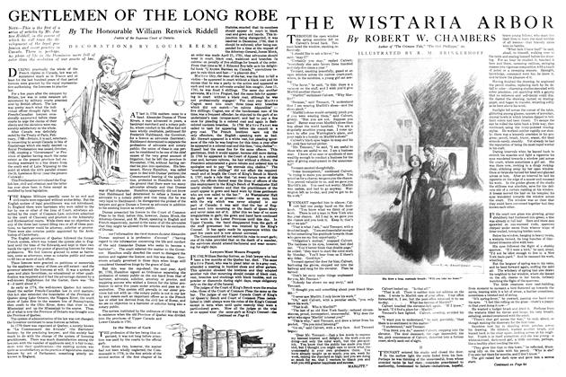 Article Preview: THE WISTARIA ARBOR, APRIL 1st, 1920 1920 | Maclean's