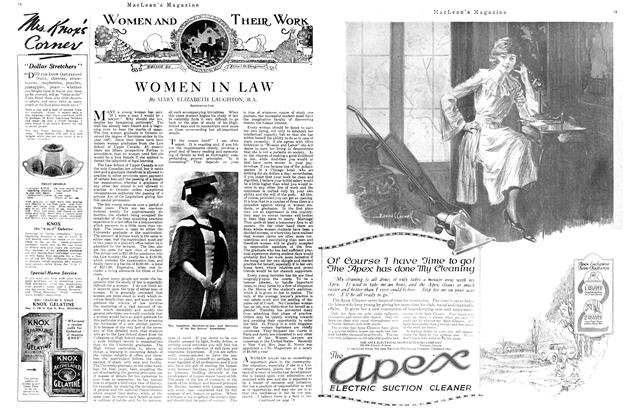 Article Preview: WOMEN IN LAW, APRIL 1st, 1920 1920 | Maclean's