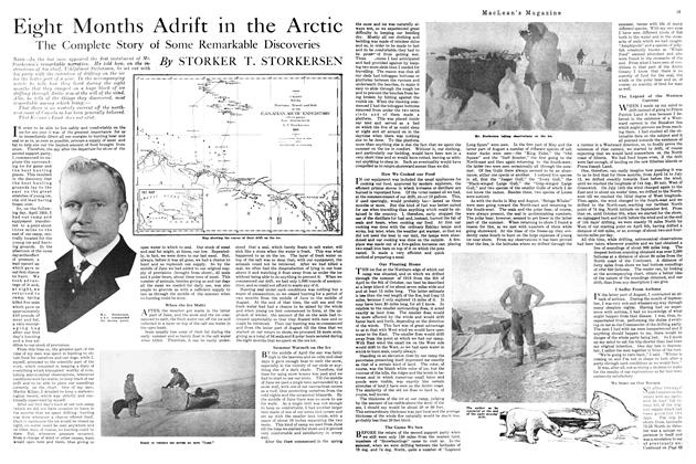 Article Preview: Eight Months Adrift in the Arctic, APRIL 1st, 1920 1920 | Maclean's