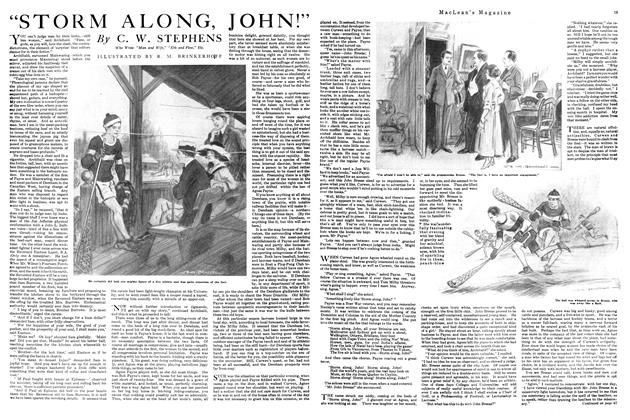 "Article Preview: ""STORM ALONG, JOHN!"", APRIL 1st, 1920 1920 