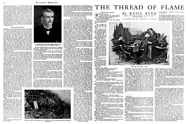 Article Preview: THE THREAD OF FLAME, April 1920 | Maclean's
