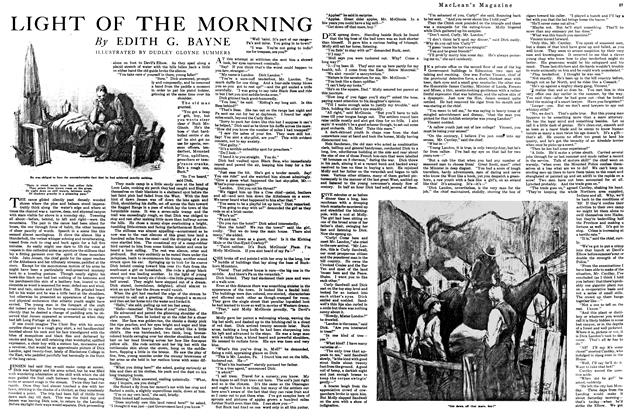 Article Preview: LIGHT OF THE MORNING, April 1920 | Maclean's