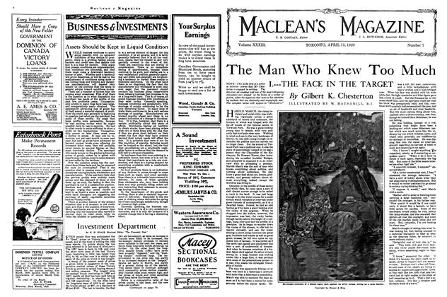 Article Preview: The Man Who Knew Too Much, April 1920 | Maclean's