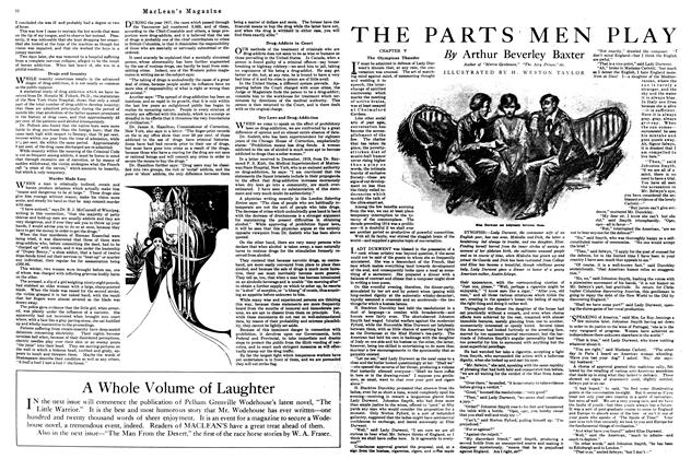 Article Preview: THE PARTS MEN PLAY, April 1920 | Maclean's