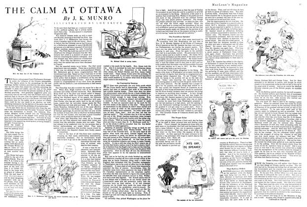 Article Preview: THE CALM AT OTTAWA, MAY 1ST 1920 1920 | Maclean's