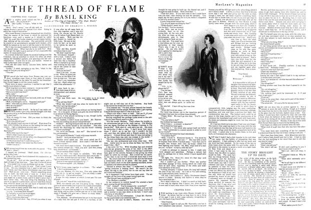 Article Preview: THE THREAD OF FLAME, MAY 1ST 1920 1920 | Maclean's
