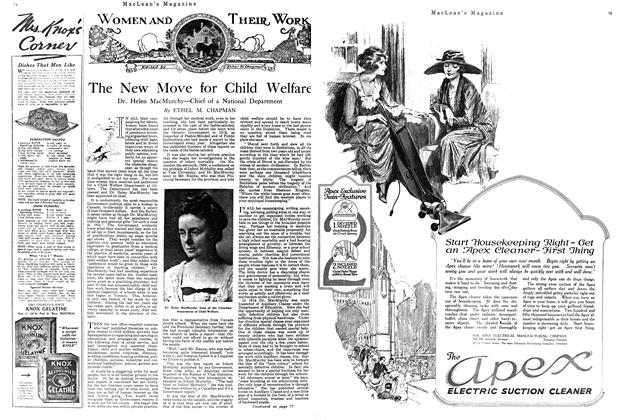 Article Preview: The New Move for Child Welfare, MAY 1ST 1920 1920 | Maclean's