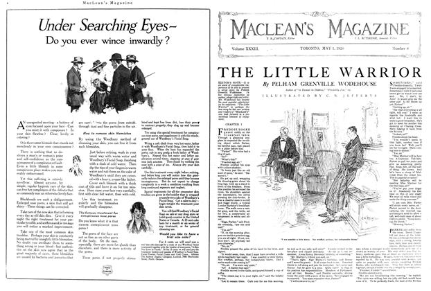Article Preview: THE LITTLE WARRIOR, MAY 1ST 1920 1920 | Maclean's