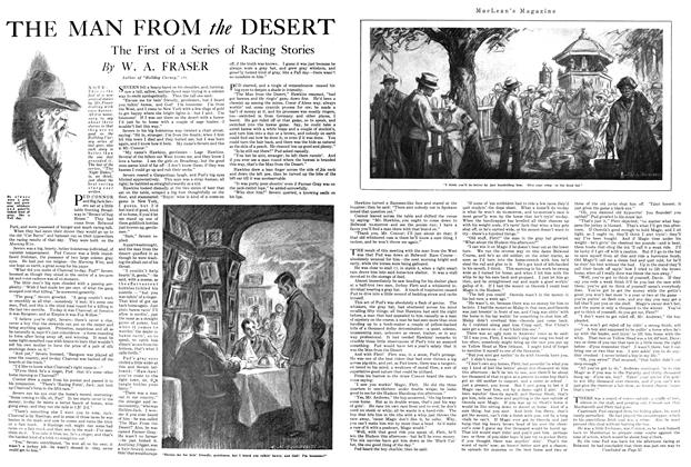 Article Preview: THE MAN FROM the DESERT, MAY 1ST 1920 1920 | Maclean's