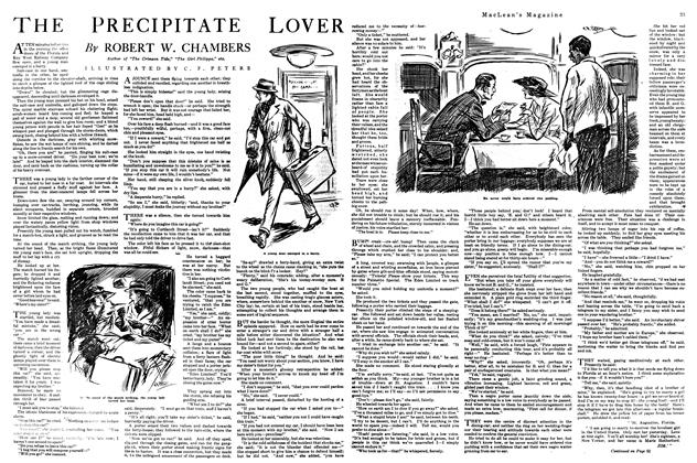 Article Preview: THE PRECIPITATE LOVER, May 1920 | Maclean's