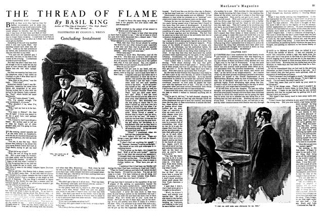 Article Preview: THE THREAD OF FLAME, May 1920 | Maclean's