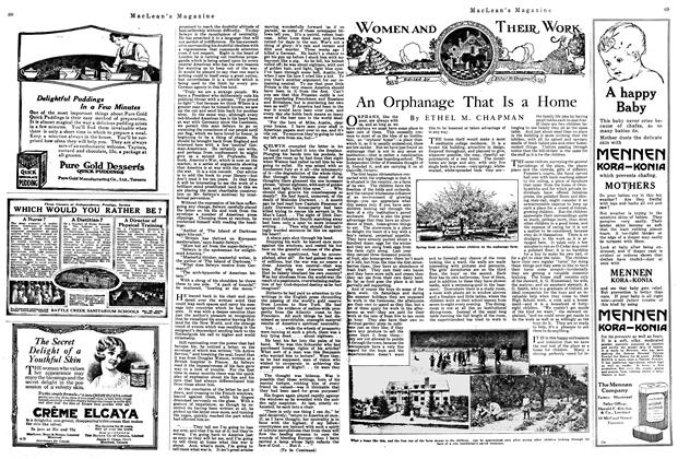 Article Preview: An Orphanage That Is a Home, May 1920 | Maclean's