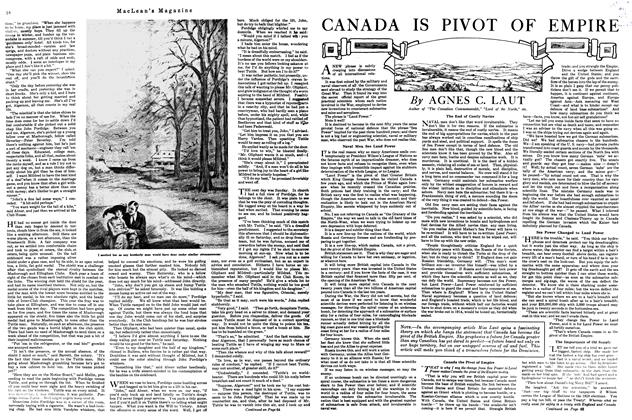 Article Preview: CANADA IS PIVOT OF EMPIRE, May 1920 | Maclean's