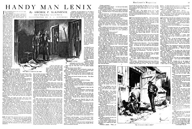 Article Preview: HANDY MAN LENIX, August 1920 | Maclean's