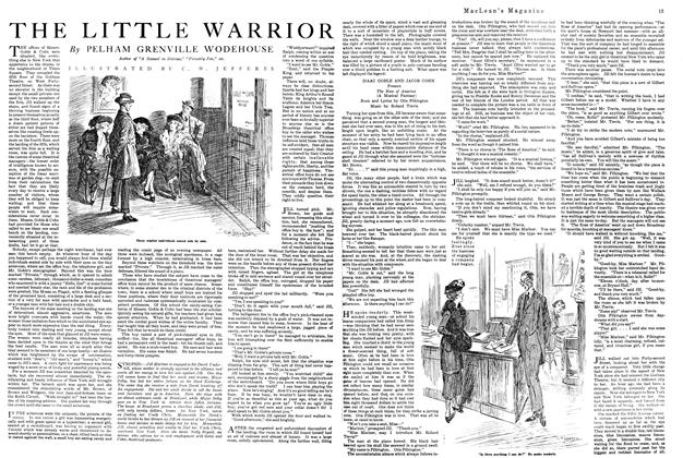 Article Preview: THE LITTLE WARRIOR, August 1920 | Maclean's