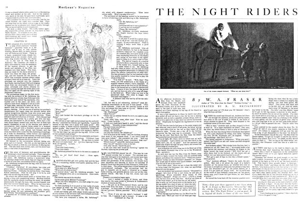 Article Preview: THE NIGHT RIDERS, August 1920 | Maclean's
