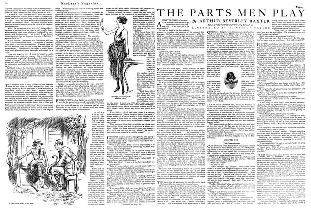 Article Preview: THE PARTS MEN PLAY, August 1920 | Maclean's