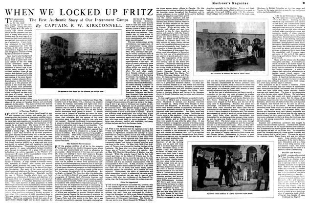 Article Preview: WHEN WE LOCKED UP FRITZ, September 1920 | Maclean's