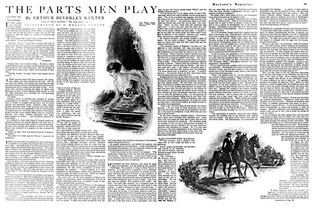 Article Preview: THE PARTS MEN PLAY, September 1920 | Maclean's
