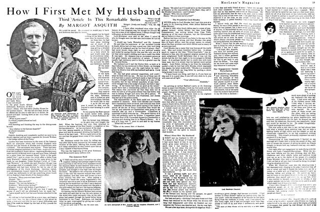 Article Preview: How I First Met My Husband, September 1920 | Maclean's
