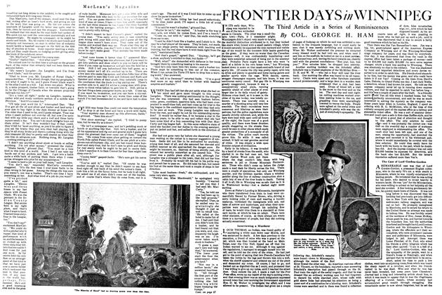 Article Preview: FRONTIER DAYS in WINNIPEG, September 1920 | Maclean's