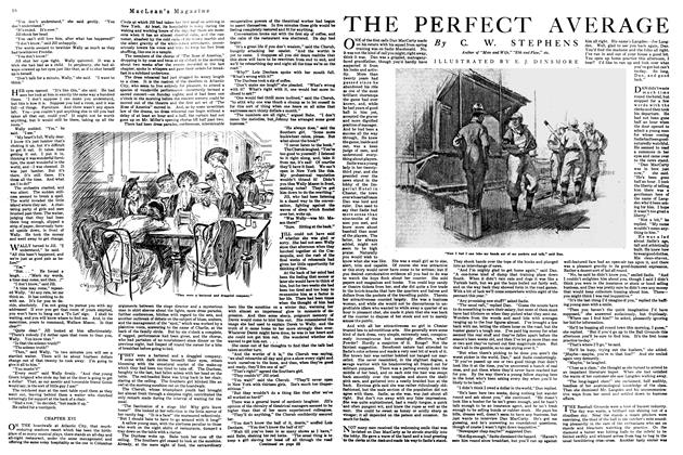 Article Preview: THE PERFECT AVERAGE, September 1920 | Maclean's