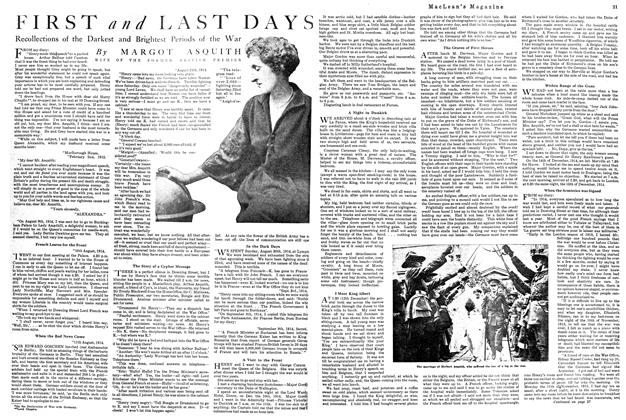 Article Preview: FIRST and LAST DAYS, October 1920 | Maclean's
