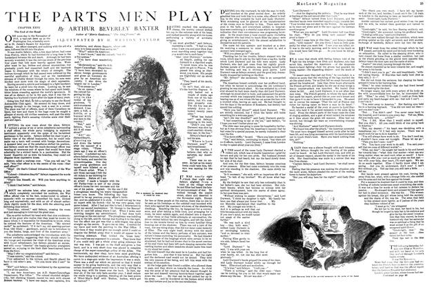 Article Preview: THE PARTS MEN PLAY, October 1920 | Maclean's