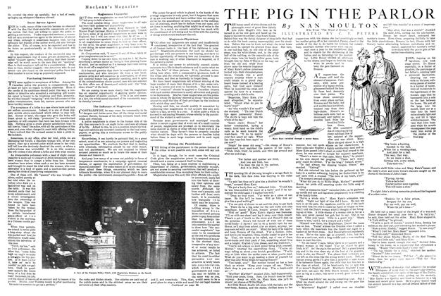 Article Preview: THE PIG IN THE PARLOR, October 1920 | Maclean's