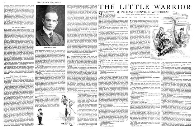 Article Preview: THE LITTLE WARRIOR, October 1920 | Maclean's