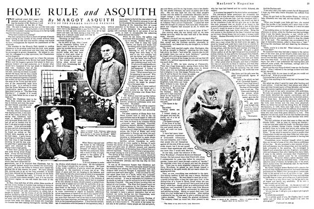 Article Preview: HOME RULE and ASQUITH, October 1920 | Maclean's