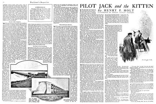 Article Preview: PILOT JACK and the KITTEN, October 1920 | Maclean's