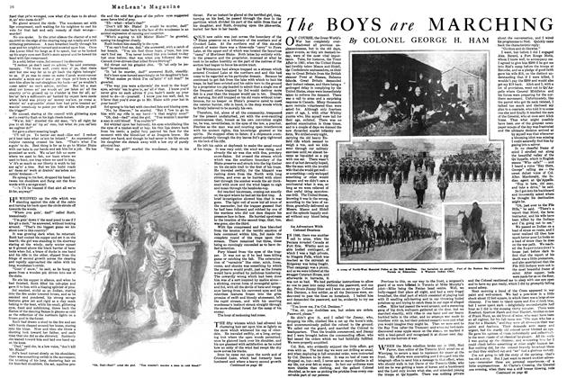 Article Preview: The BOYS are MARCHING, October 1920 | Maclean's