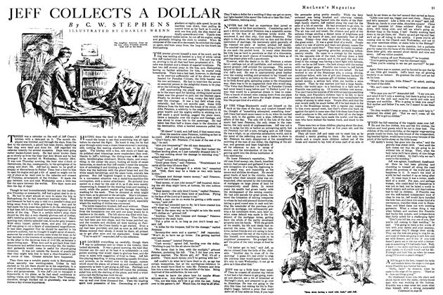 Article Preview: JEFF COLLECTS A DOLLAR, October 1920 | Maclean's