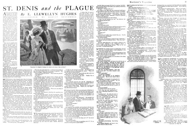 Article Preview: ST. DENIS and the PLAGUE, November 1920 | Maclean's