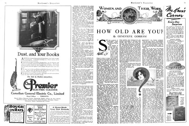 Article Preview: HOW OLD ARE YOU?, November 1920 | Maclean's