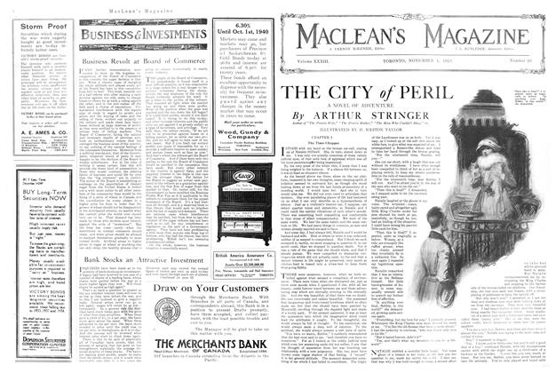 Article Preview: THE CITY of PERIL, November 1920 | Maclean's