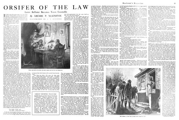 Article Preview: ORSIFER OF THE LAW, November 1920 | Maclean's